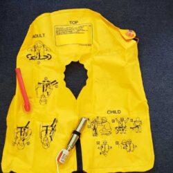 jet demo life vest