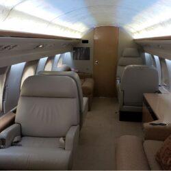 G3 interior cabin looking forward